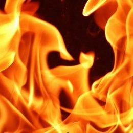 Lodernde Flammen